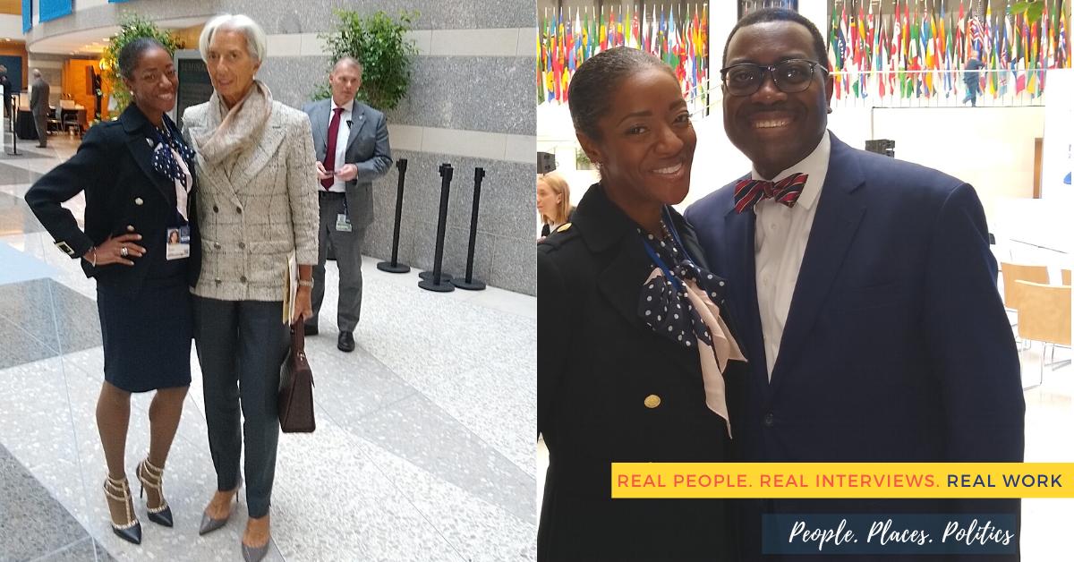 Ivy Pendleton, Christine Lagarde, International Monetary Fund