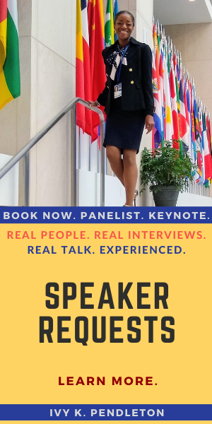 Ivy Pendleton Keynote Speaker, Panelist, Crisis Communications Expert. Publicist Washington DC